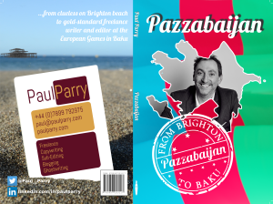 Pazzabaijan - Book cover V7